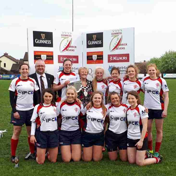 Malone Ladies victorious at the Guinness Carrick 7's