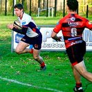 Malone edge Armagh in a thrilling game of rugby by 28-26