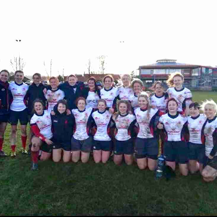Malone RFC Women's team have wrapped up the Ulster Rugby Women's Championship Division 1 a