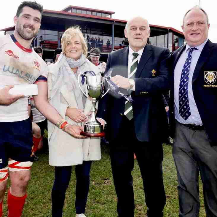 Malone crowned Champions of Division 2A of the Ulster Bank League
