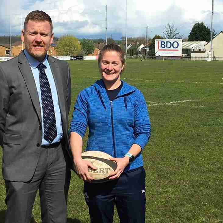 Malone Women's rugby New Coach appointment Grace Davitt