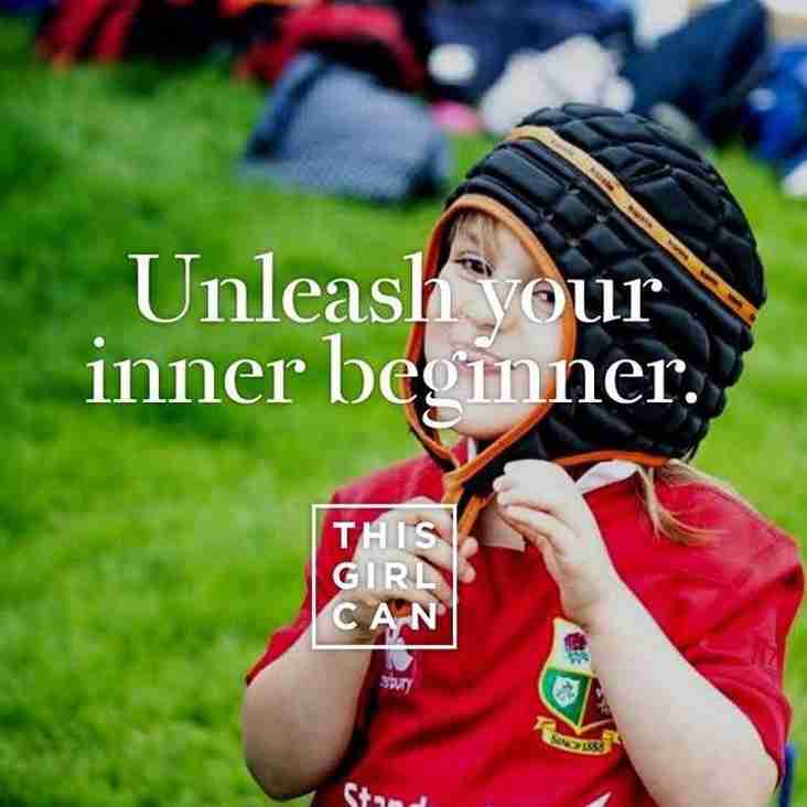 Malone Ladies Rugby - Unleash your inner beginner