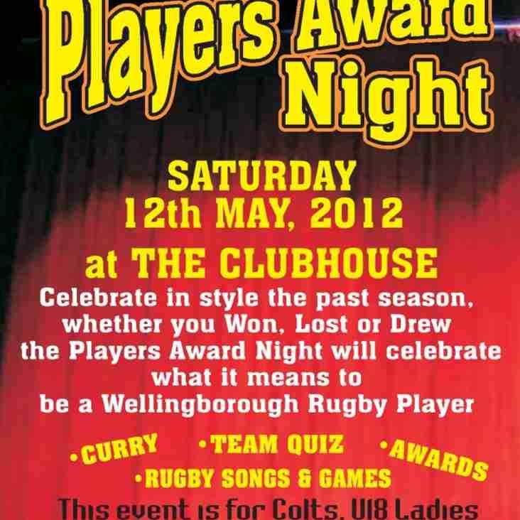 Players Award Night