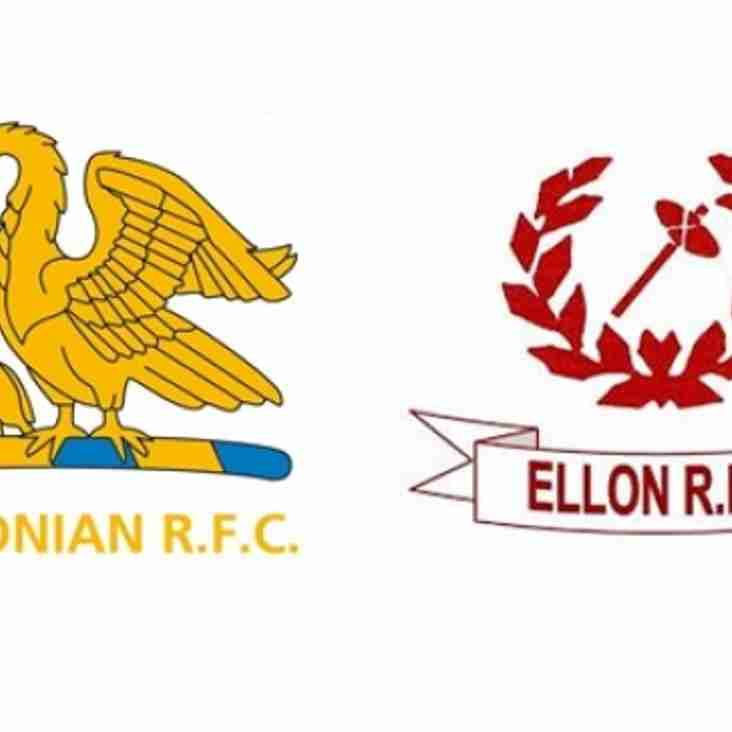 Gordonian double header versus Ellon this Saturday