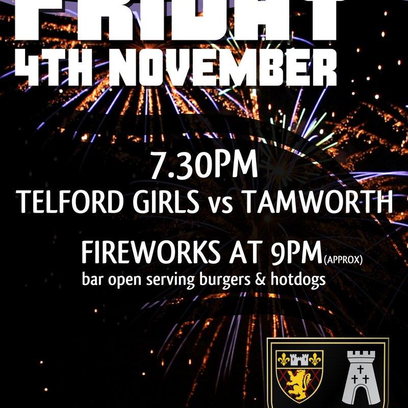 Telford Hornets / Oswestry  v Tamworth