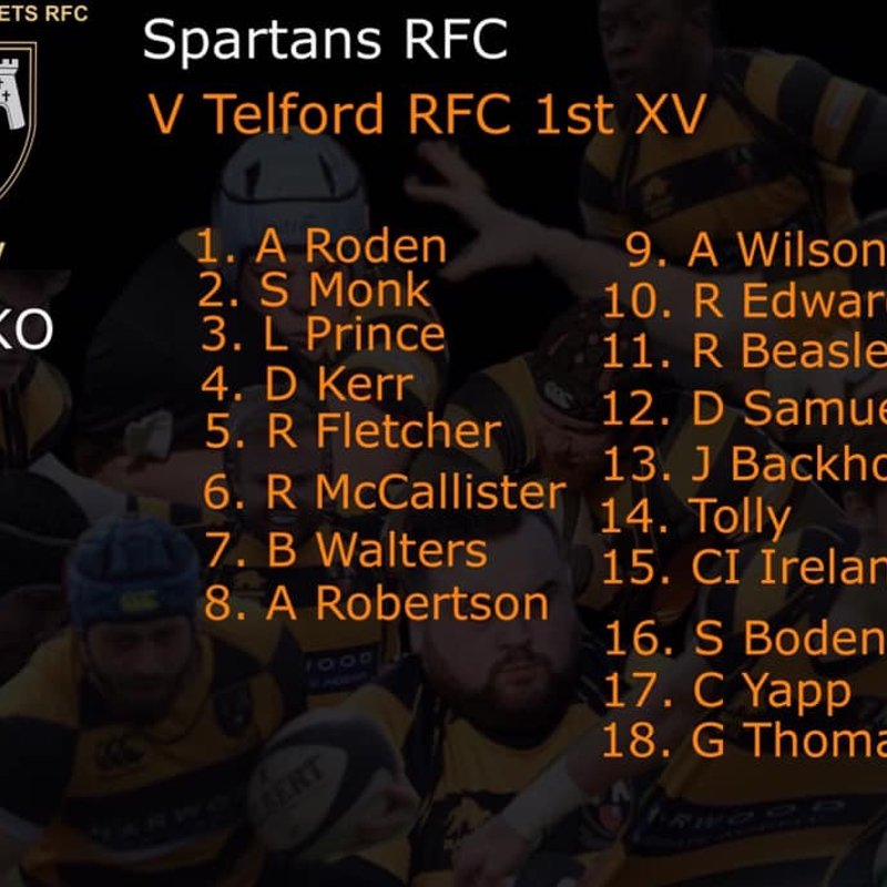 Firsts away at Spartans