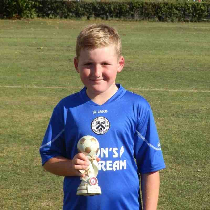 GRIMSBY BOROUGH U11'S MAN OF THE MATCH