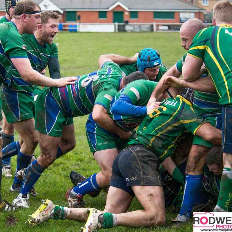 IRFC V Huntingdon & District