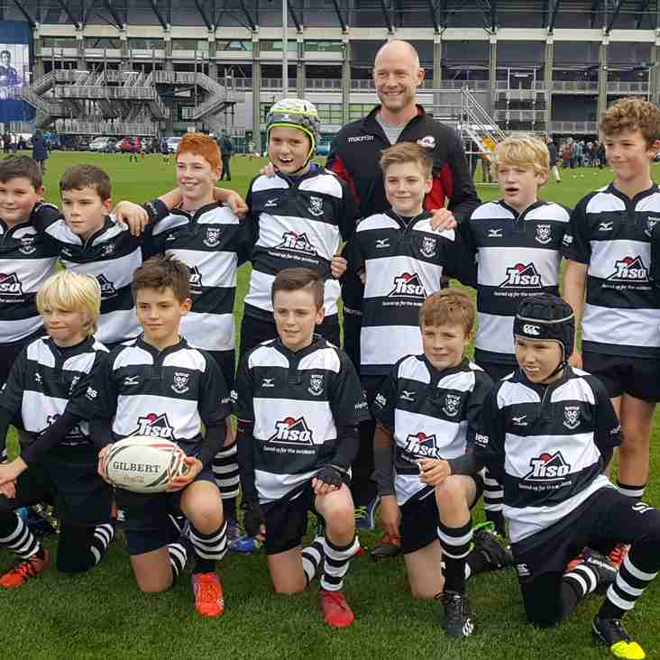 Perthshire U12's qualify for Finals Day at Murrayfield