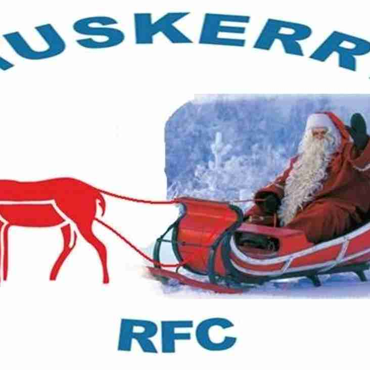 Muskerry RFC Christmas Newsletter