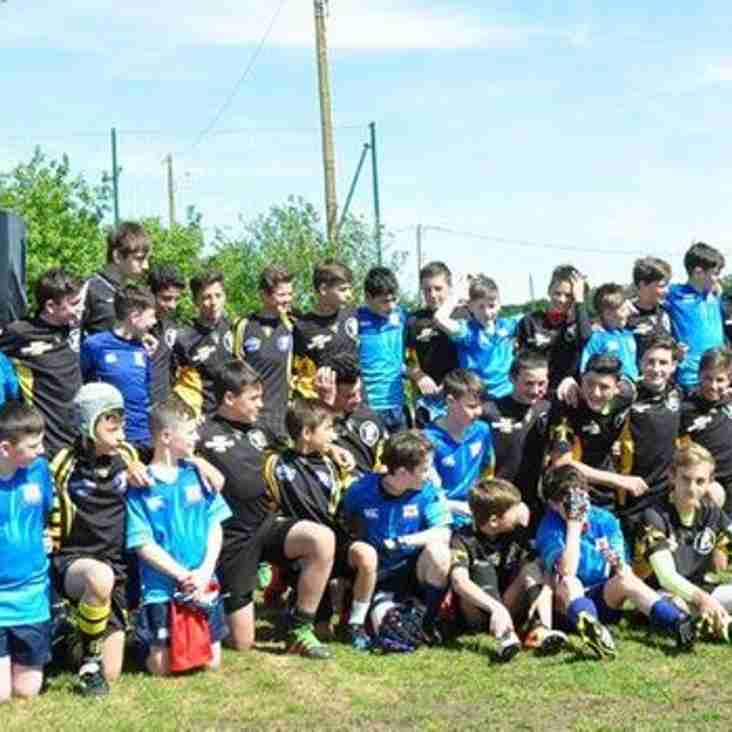 U13s make headlines in France