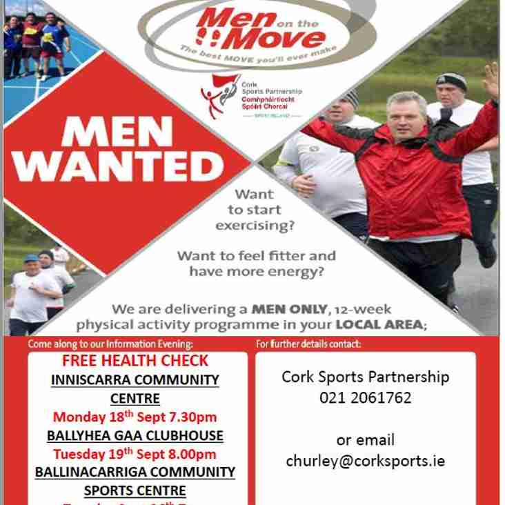 Men on the Move!