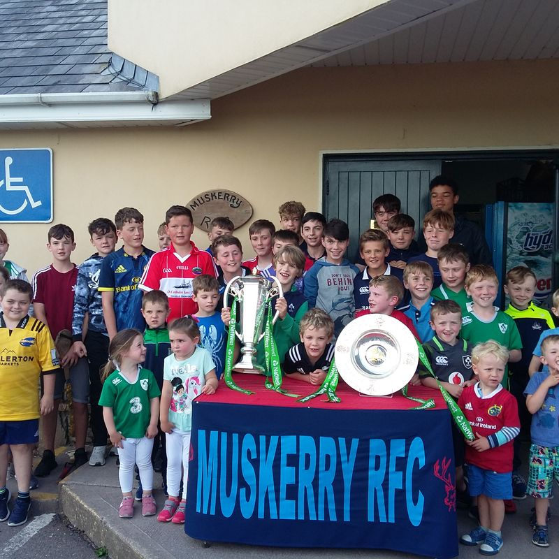 Six Nations Trophies visit Muskerry RFC