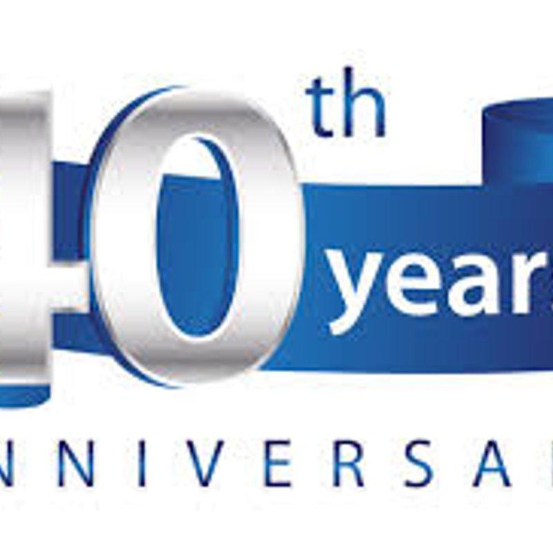 40th Anniversary Celebration Dinner