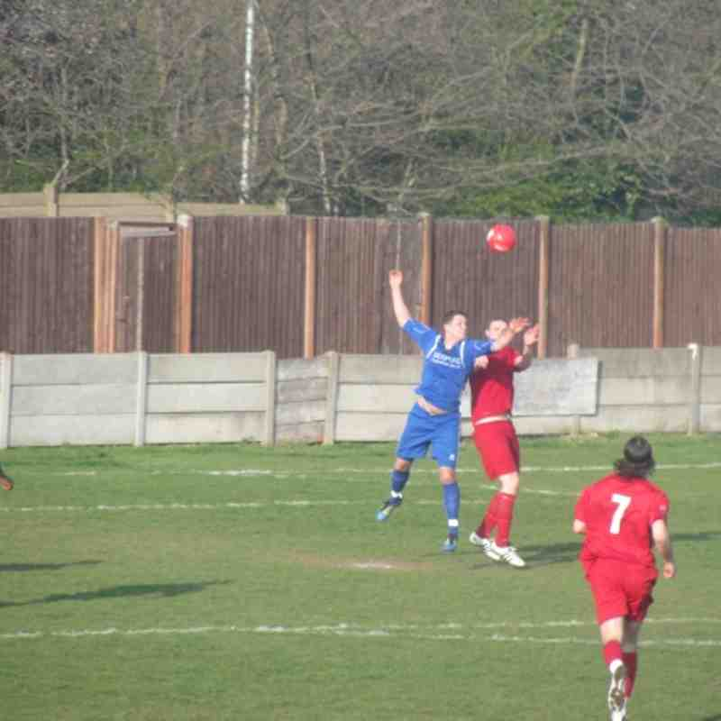 Aveley vs Harrow Borough 24/03/2012