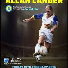 An evening with Allan Langer !