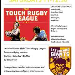 Latchford Giants Touch Rugby League