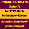 Latchford Giants ARLFC vs. Woolston Rovers