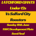 Under 12's lose to Salford City Roosters 48 - 0
