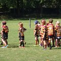 Under 8's Blacks lose to Leigh East Warriors 28 - 58