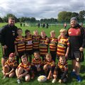 Under 8's Maroons beat Folly Lane 28 - 44