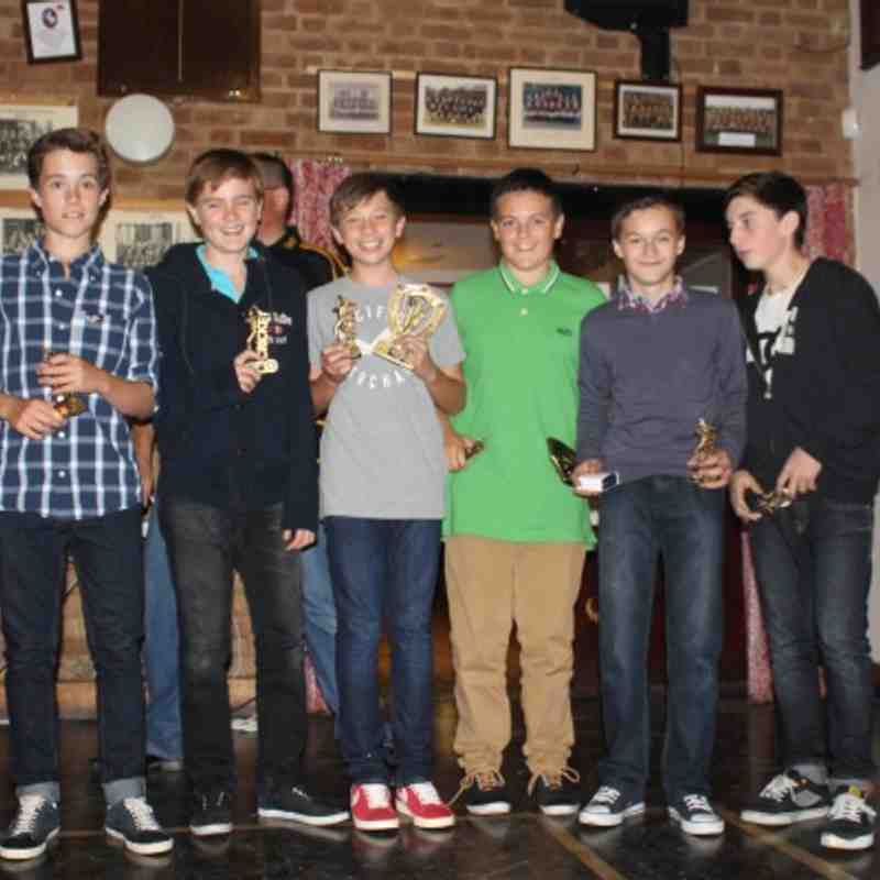 Colts Presentation Night 2012