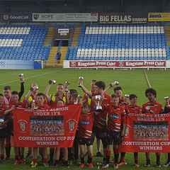 U 13's bring the Continuation Cup Home to Albion