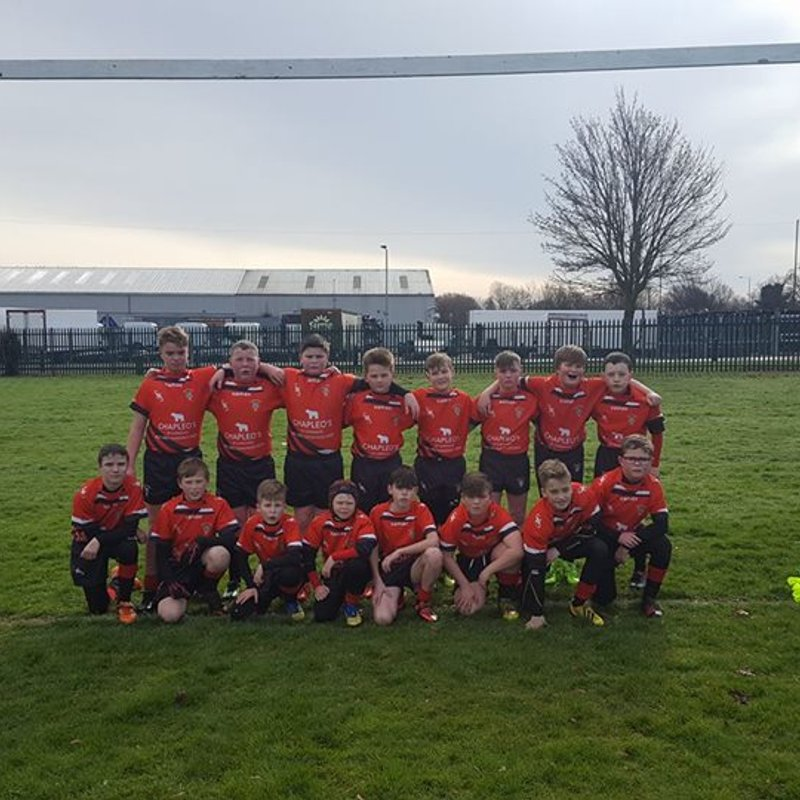 Under 12's beat Farnley Falcons 30 - 4