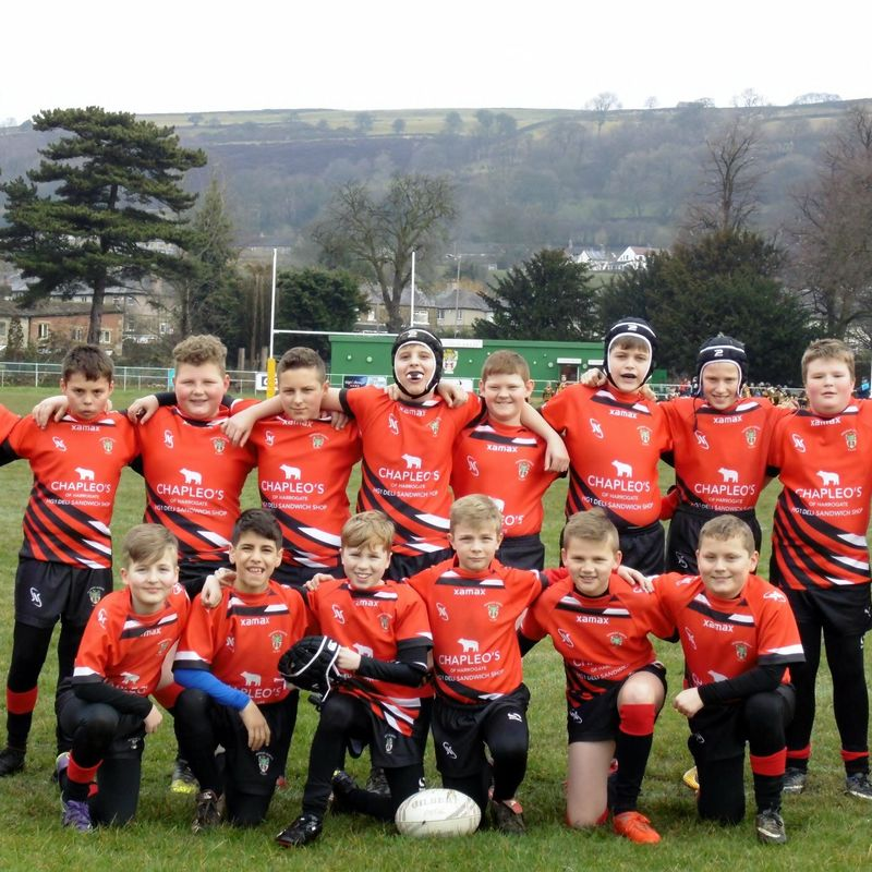 Under 12's beat Milford Marlins 16 - 20