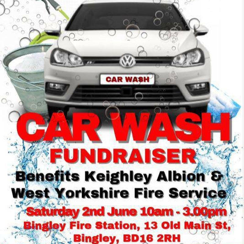 Car Wash at Bingley Fire Station