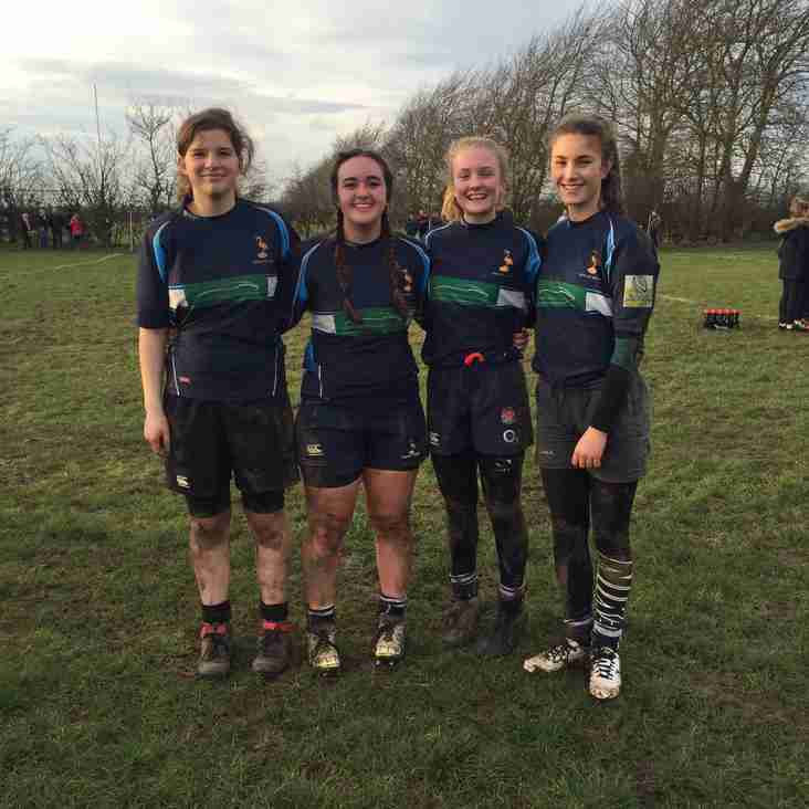 U15 Girls are selected for Midlands squad
