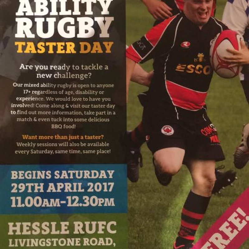Mixed Ability Rugby Taster Day