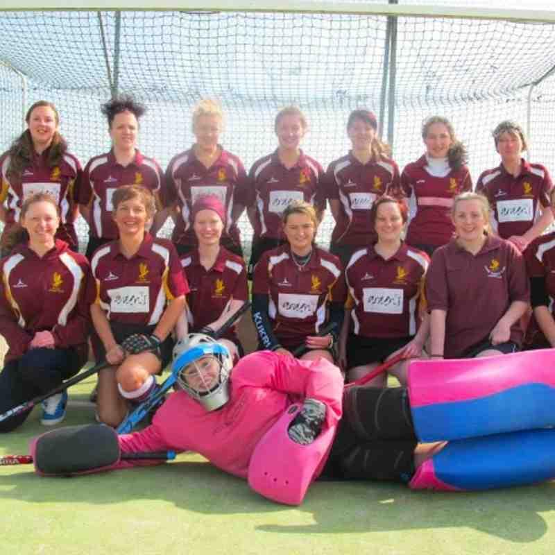 Stone Ladies 2XI - last match of 2013/2014 season