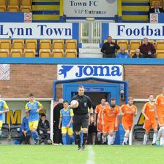 Kings Lynn away with thanks to smudger of King Lynn Town.