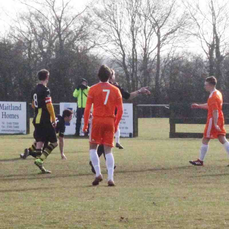 Debenham LC FC v Holland FC 17-18