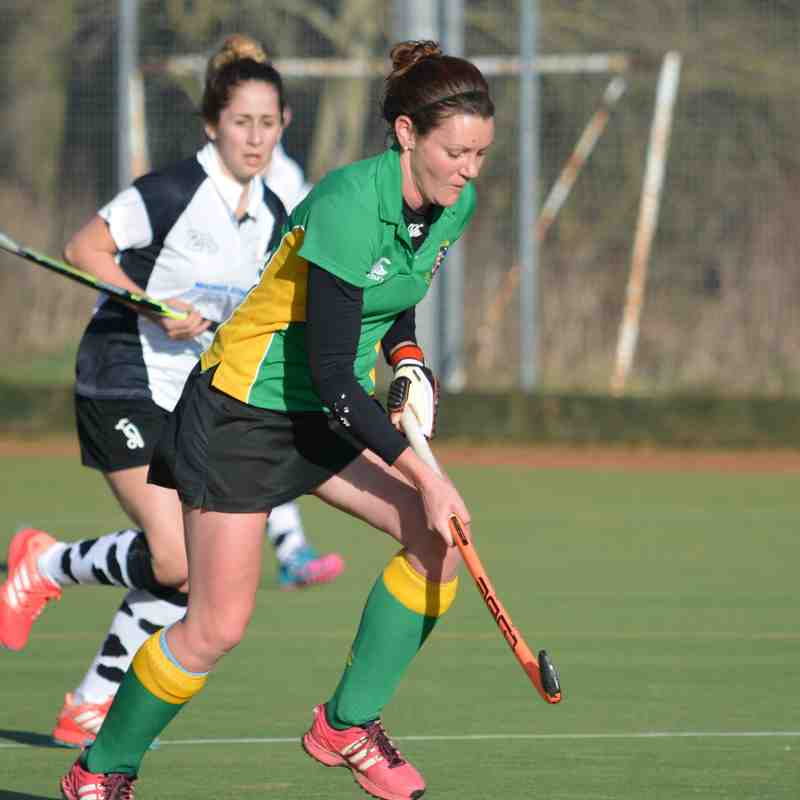 Ladies 1st XI (8) vs Berwick 1st XI (1) - 4th February 2017