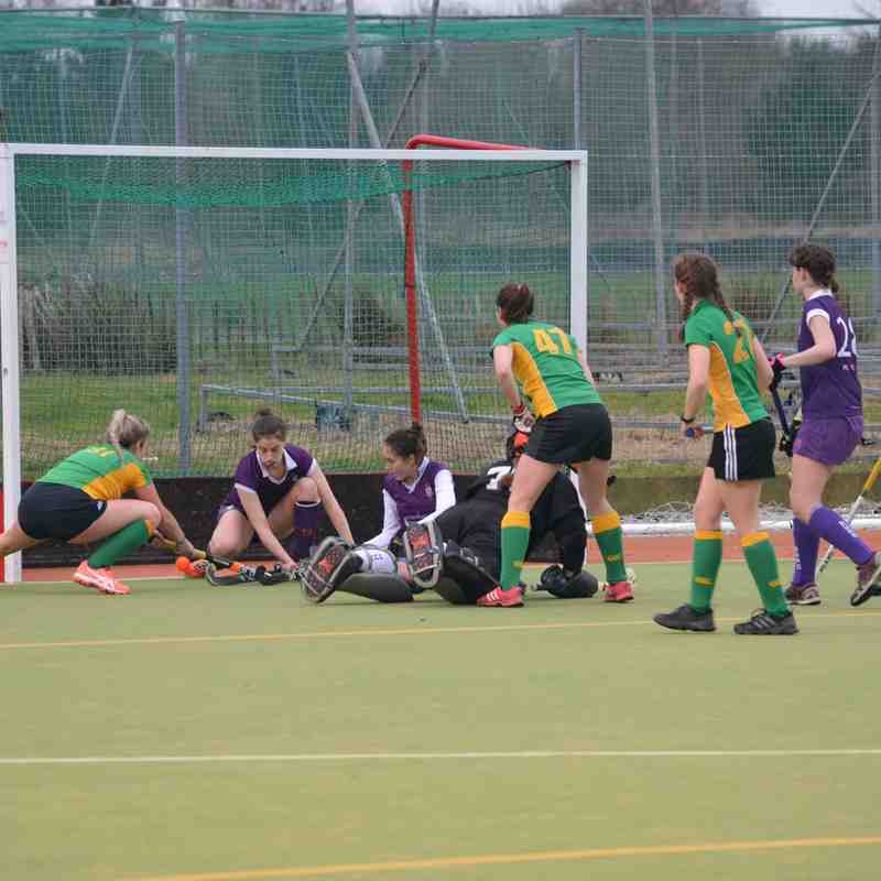 Ladies 1st XI (2) vs University of Durham 3rd XI (1) - 18th February 2017