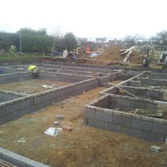foundations completed 22nd February