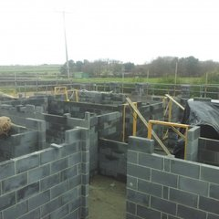 blockwork taking shape 15th March