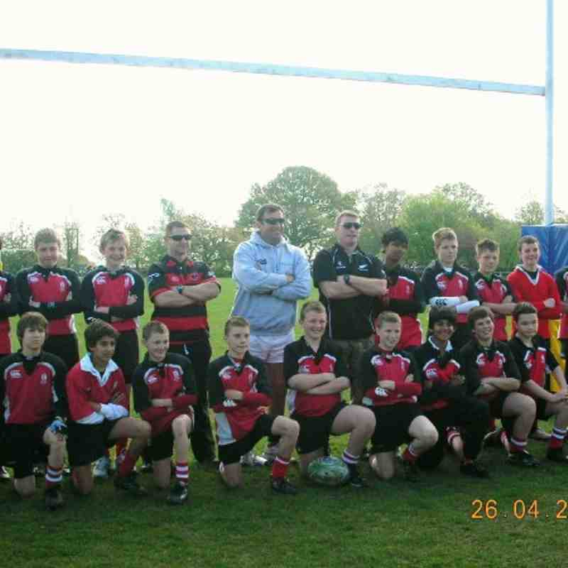 U 13s tournament 2009