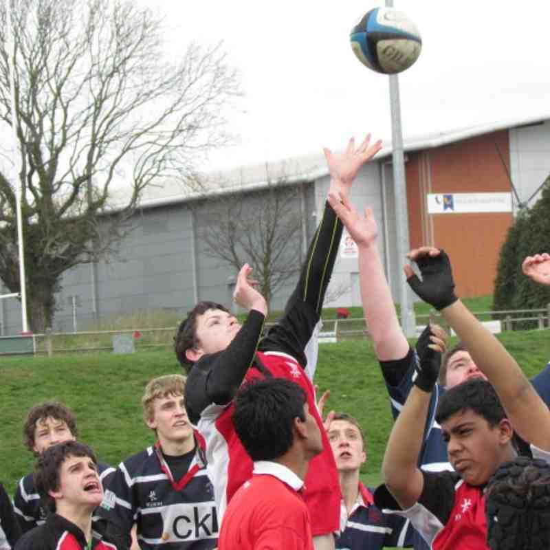 Under 15s v Stourbridge