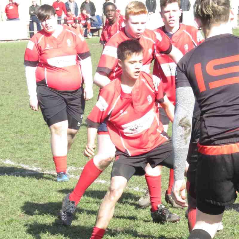 Under 15s v Wolverhampton 23.3.18