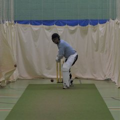 Winter nets 24/2/18 practising hard!!