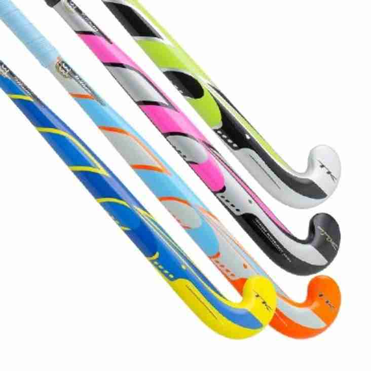 Junior Stick Sale - Available Tonight at Training!