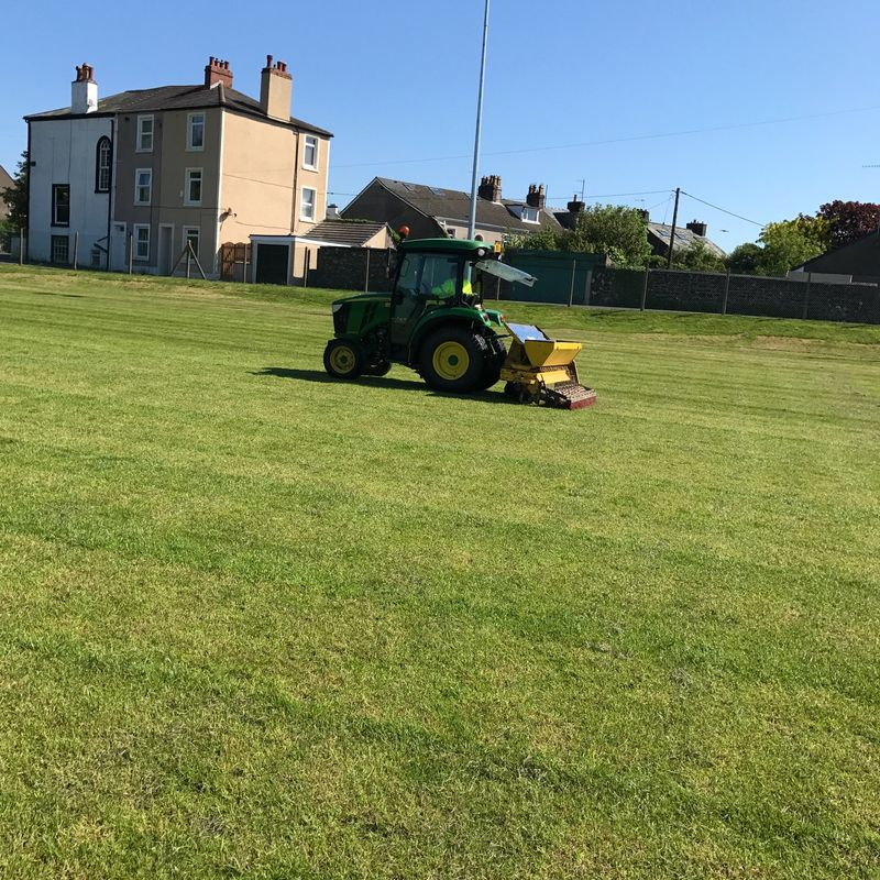 Pitch reseeded
