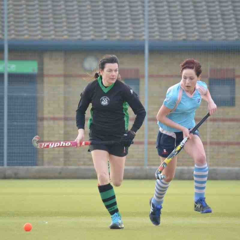Ladies 1s Home 14/4/15