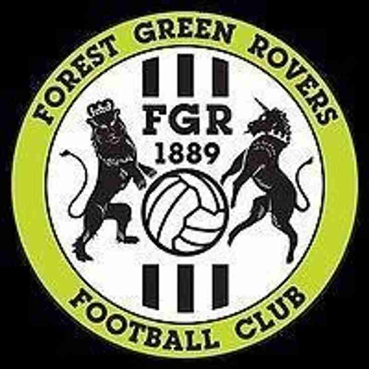 Forest Green Rovers - play off game
