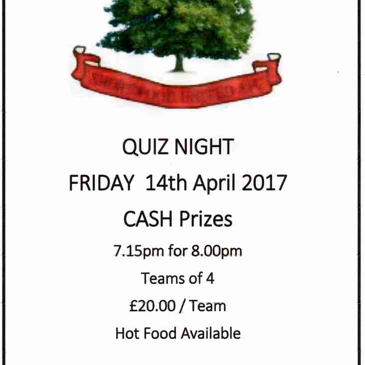 Shortwood Quiz Nite!!!