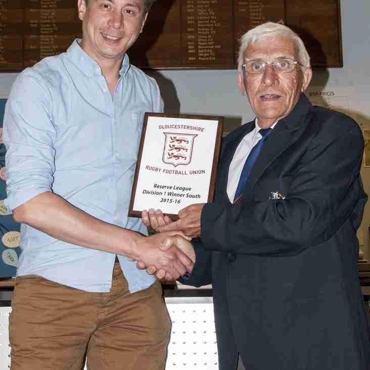 Thornbury Seconds Receive GRFU Award
