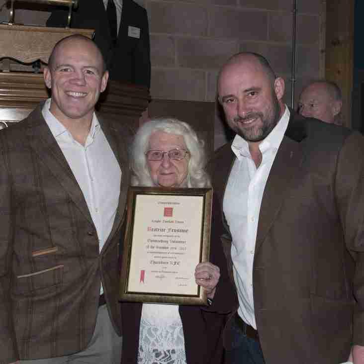 Top volunteer award for Beattie Fensome